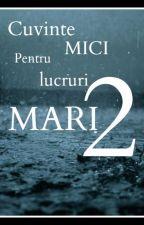Cuvinte Mici Pentru Lucruri Mari 2 by RoberStory