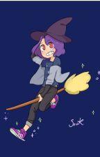 escuela de magia (fnaf hs wizard )( Freddy x Fred) by andreadifonix