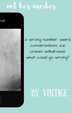 Not her number by Vintige