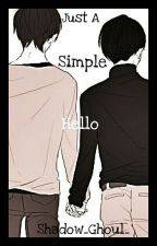 Just a Simple Hello - Ereri by Shadow_Ghoul_