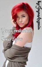 Yeng Constantino Songs by JayneArgarin