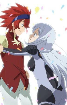 Gundam Build Fighters ; Reiji x Aila : Tình yêu từ hai thế giới by minaminoelina012