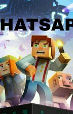 minecraft story mode whatsapp  by Baby479