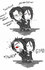 Black Butler Texts by OfficialDannyMurillo