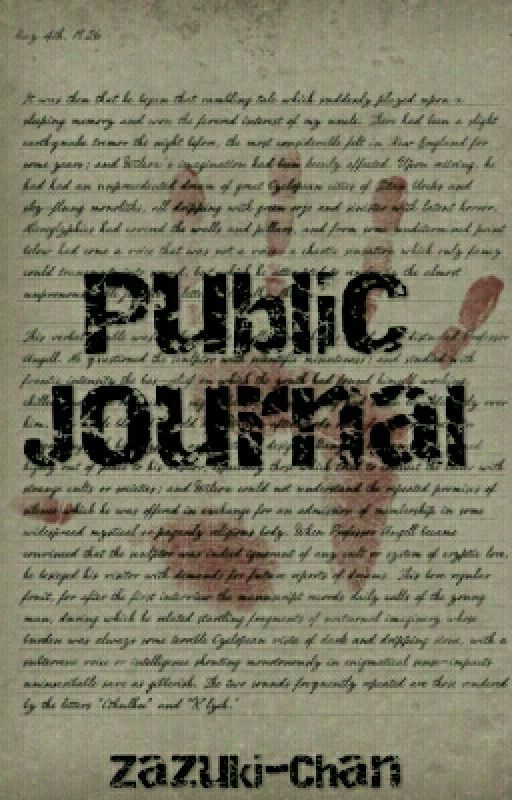 Public Journal by Zazuki-Chan
