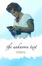 the unknown text ↠ [h.s] by fvckingharryy