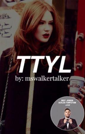 TTYL    Jensen Ackles by mswalkertalker