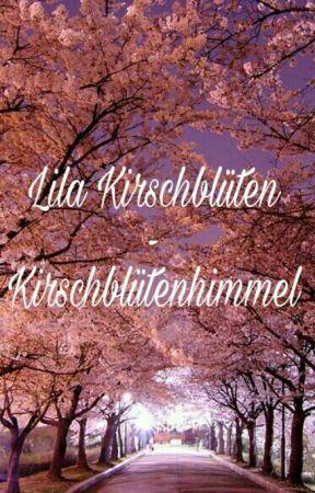 Lila Kirschblüten - Kirschblütenhimmel by bookloveisaneasylove