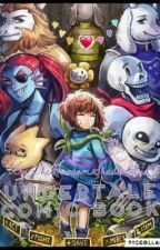 Undertale comic book by undertalecharatrash
