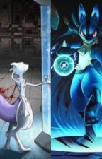 Mewtwo & Lucario : Brothers Apart by Canary_X