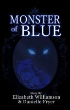Monster of Blue by Leigh-Nicole