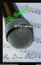 My Songbook - 2009 Edition by meisadreamer