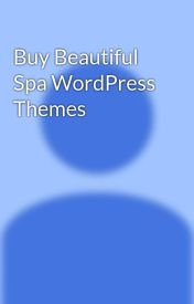 Buy Beautiful Spa WordPress Themes by algothemes1