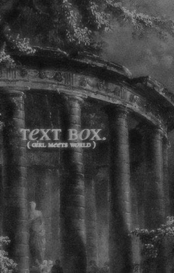 Chat box ➳ GMW