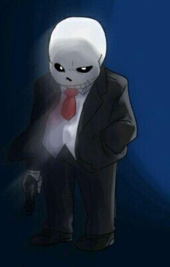 Death~Mafia-sans X Assassin-reader