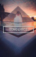 Song Lyrics by --LukeRHemmings--