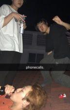 phonecalls, jihope. by peachyeol