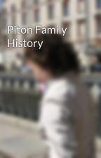 Piton Family History by MargaretPiton