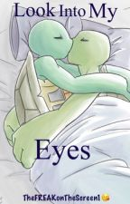 TMNT(2012) 'Look Into my eyes' (leoxraph) fanfic  by TheFREAKonThescreen1