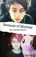 Because of Michael | afi + 5SOS by bang_the_drums