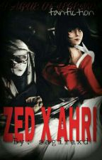 ♥ League of Legends/Fan Fiction - Ahri and Zed - SOJUSZ ♥ by sagiraxd
