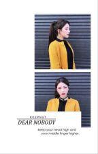 dear nobody ➡ h.g [2] by keepnut
