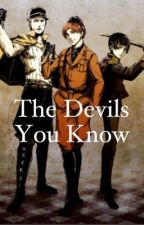 2p Italy X Reader X 2p America: The Devils You Know by coffeeadict18