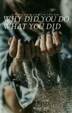 Why did you do what you did.✓ by chasinginfinities