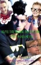 You're The Shining Distraction That Makes Me Fly by houseofziam