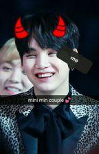 mini min couple ♠ yoonmin by ca_doyoongi