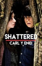 Shattered Carl y Enid by shadowhuntersbase
