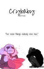 「Crybaby」→Underfell Sans x Reader by EchoTrash