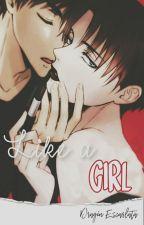 Like a girl; Ereri by Tatakaeh
