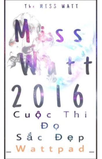 Miss Watt 2016