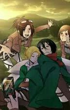We are finally  outside  of the wall by Mikasa_real_Ackerman