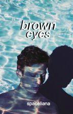brown eyes// phan by spaceliana