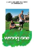 wrong one ✧ jack g and sammy wilk by camwrondallas
