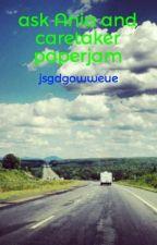 ask  Ania and caretaker paperjam by jsgdgowweue