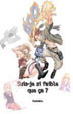 Nalu : Suis-je si faible que ça ? - Terminé - (Fairy Tail) by FanDeNalu