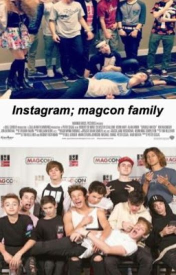 Instagram; magcon family