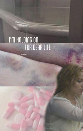 i'm holding on for dear life- harleyxjoker
