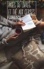 Pages de livres et thé aux cerises by Flolol2