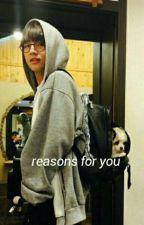 reasons for you : joshler by -lovelynam