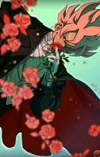 Camino de rosas [Black GokuXTu]  by LocaXGohan