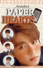 Paper hearts • Jikook!  by Gabss0