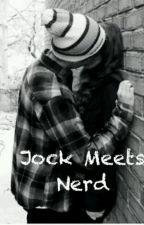 jock meets  nerd by piercethetigger