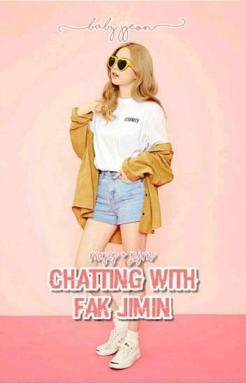 chatting with fak jimin