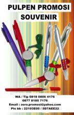 Jual Pulpen murah, pulpen promosi, souvenir pulpen by AdiLiong