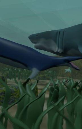 matsley dinosaures saison 3: le basilosaurus vs MEGALODON by matsleySystems