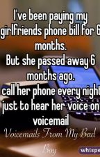 Voicemails From My Bad Boy by RigantonaAKARhiannon
